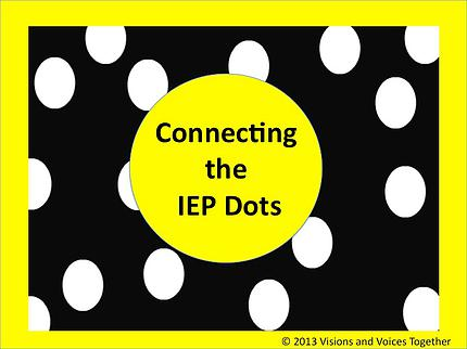 Connecting the IEP Dots
