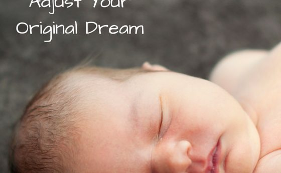 Adjust Your Original Dream