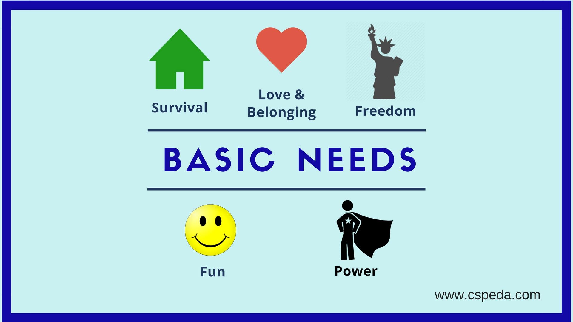 5 Needs
