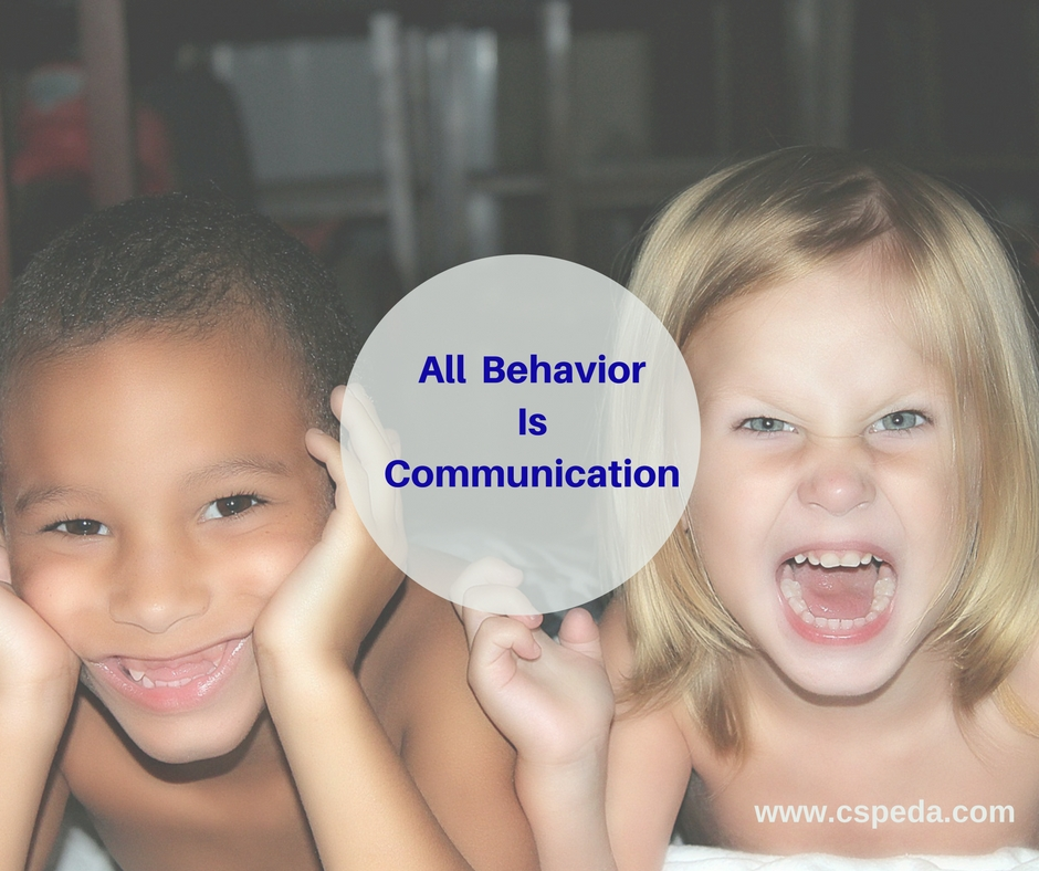 All Behavior Is Communication